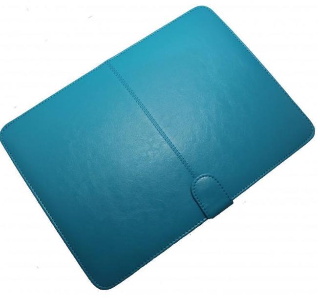 Чехол-книжка Palmexx для Apple MacBook Pro 13 with Touch Bar Late (2016) искусственная кожа (бирюзовый) фото