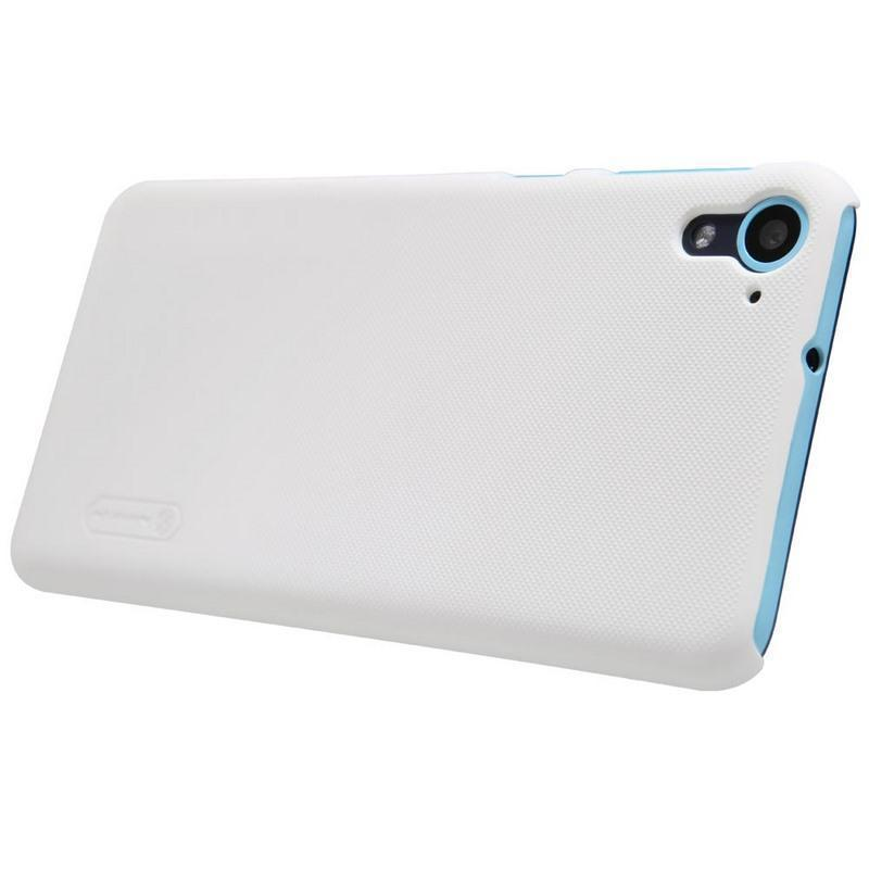 Чехол-накладка Nillkin Frosted Shield для HTC Desire 826 пластиковый Whiteдля HTC<br>Чехол-накладка Nillkin Frosted Shield для HTC Desire 826 пластиковый White<br>