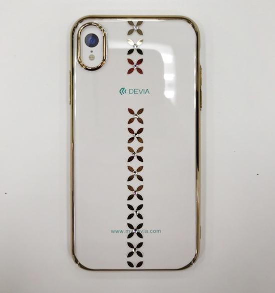 Купить Чехол-накладка Devia Lucky Star Series Case для Apple iPhone X/XS пластиковый Gold