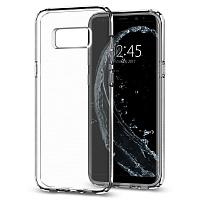 Чехол-накладка Spigen Liquid Crystal для Samsung Galaxy S8 (Crystal Clear) SGP 565CS21612 фото