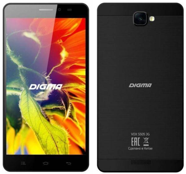 Digma Vox S505 3G BlackDigma<br>Digma Vox S505 3G Black<br>