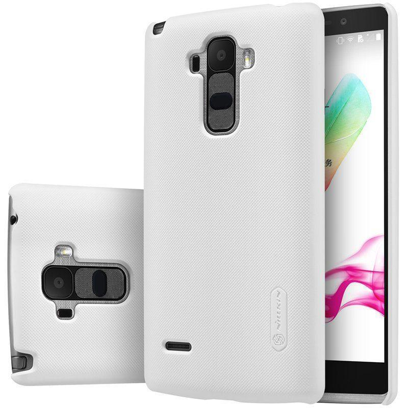 Чехол-накладка Nillkin Super Frosted Shield для LG G4 Stylus H540F (пластиковый) Whiteдля LG<br>Чехол-накладка Nillkin Super Frosted Shield для LG G4 Stylus H540F (пластиковый) White<br>