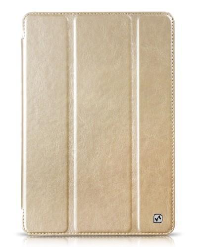 Чехол-книжка Hoco Flash Series для Apple iPad mini 1/2/3 (искусственная кожа) золотистый