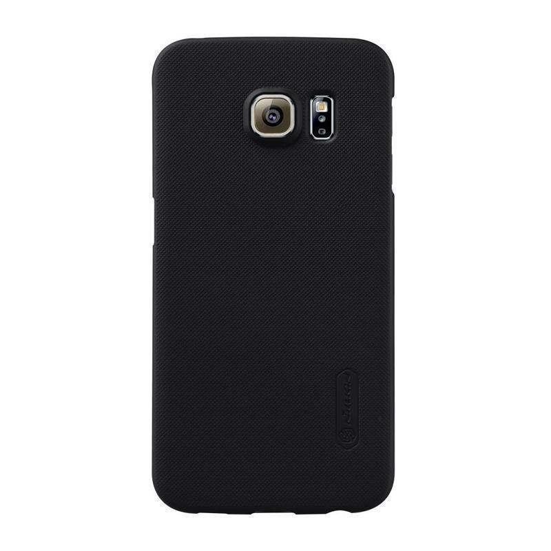 Чехол-накладка Nillkin Frosted Shield для Samsung Galaxy S6 Edge (SM-G925) пластиковый чeрныйдля Samsung<br>Чехол-накладка Nillkin Frosted Shield для Samsung Galaxy S6 Edge (SM-G925) пластиковый чёрный<br>