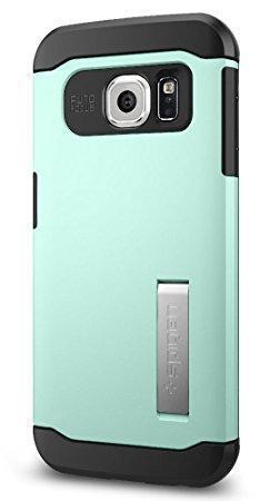 Чехол-накладка Spigen Slim Armor для Samsung Galaxy S6 Edge (SGP11425) Mintдля Samsung<br>Чехол-накладка Spigen Slim Armor для Samsung Galaxy S6 Edge (SGP11425) Mint<br>