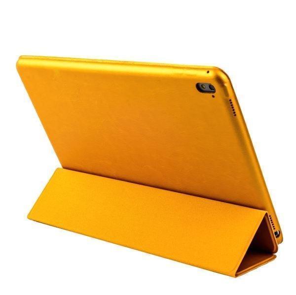 Чехол-книжка Smart Case для Apple iPad Pro 9.7 искусственная кожа с подставкой (золотой)