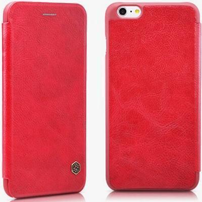 Чехол-книжка Nillkin QIN Leather Case для Apple iPhone 6 Plus/6S Plus натуральная кожа (красный)для iPhone 6 Plus/6S Plus<br>Чехол-книжка Nillkin QIN Leather Case для Apple iPhone 6 Plus/6S Plus натуральная кожа (красный)<br>