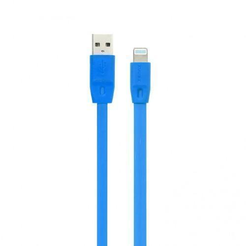 Кабель Remax Full Speed (USB) на (Lightning) 200см голубой(Apple lightning) кабели, переходники, адаптеры<br>Кабель Remax Full Speed (USB) на (Lightning) 200см голубой<br>