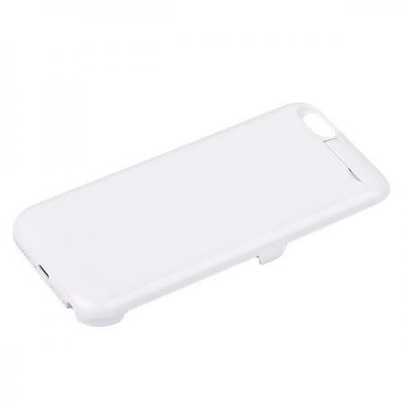 Чехол-аккумулятор (model X1) 3000 mAh для Apple iPhone 6/6S пластик white