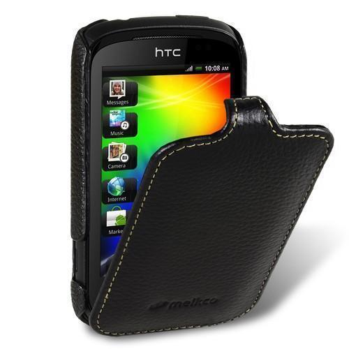 Чехол-книжка Melkco для HTC Explorer A310e (HTC Pico) натуральная кожа черныйдля HTC<br>Чехол-книжка Melkco для HTC Explorer A310e (HTC Pico) натуральная кожа черный<br>