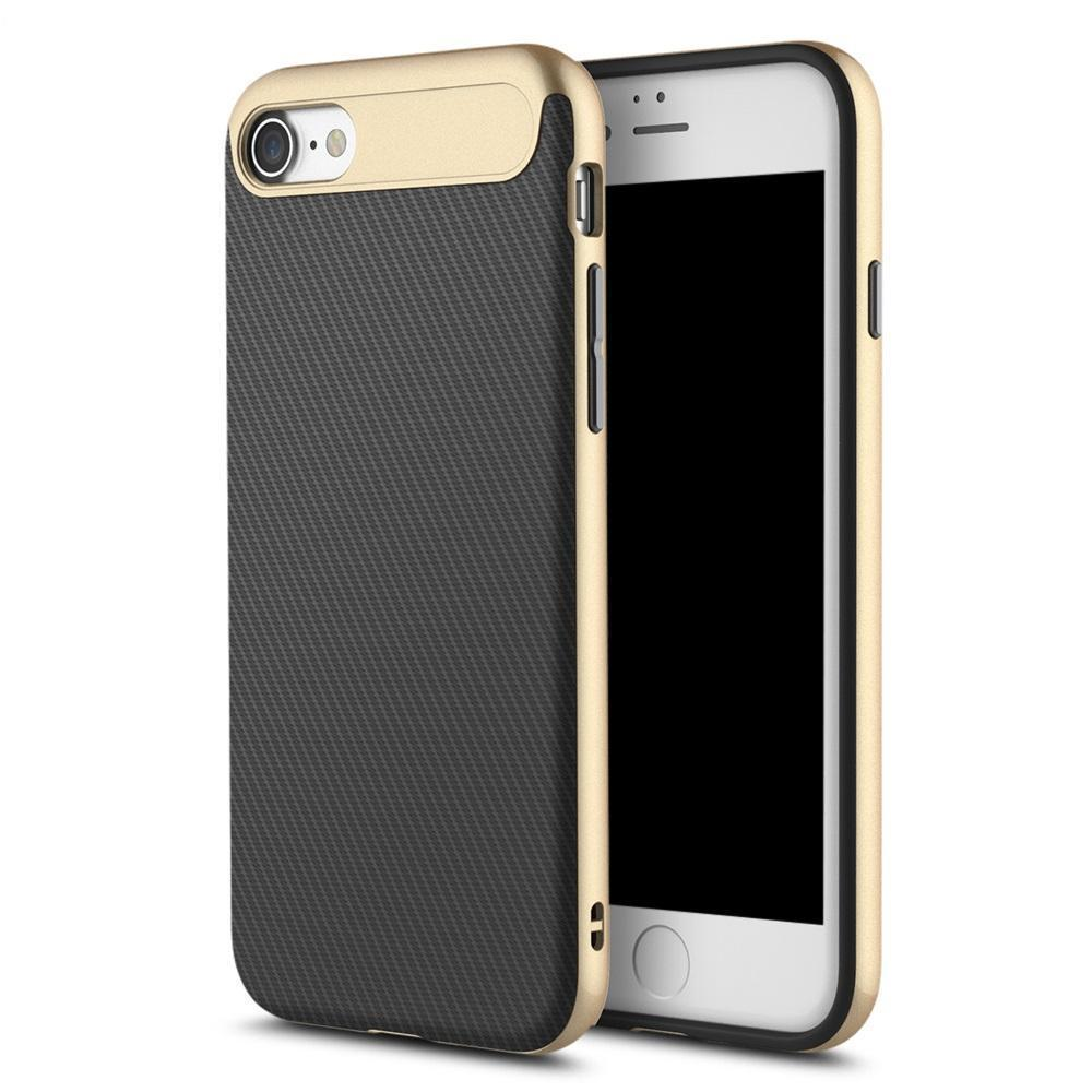 Чехол-накладка Rock Vision Series для Apple iPhone 7/8 силикон-пластик (Champagne Gold)