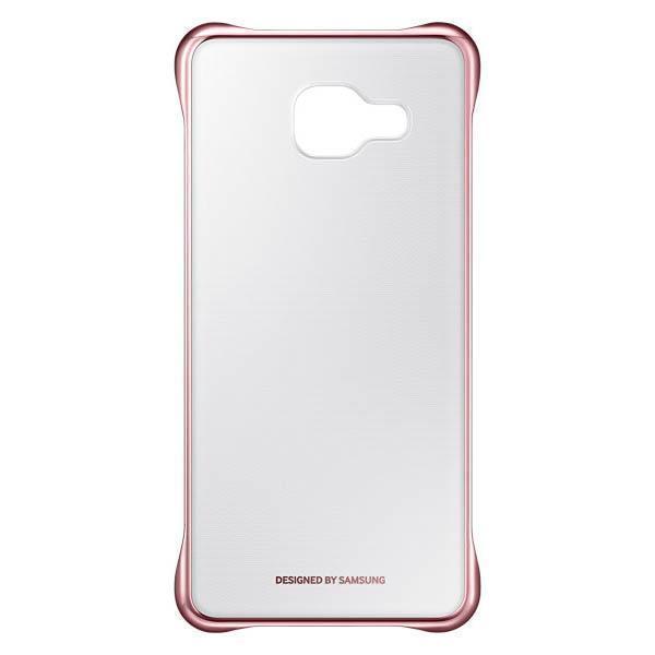 Чехол-накладка Samsung Clear Cover для Galaxy A3 (2016) пластик прозрачный-розовый EF-QA310CZEGRUдля Samsung<br>Чехол-накладка Samsung Clear Cover для Galaxy A3 (2016) пластик прозрачный-розовый EF-QA310CZEGRU<br>