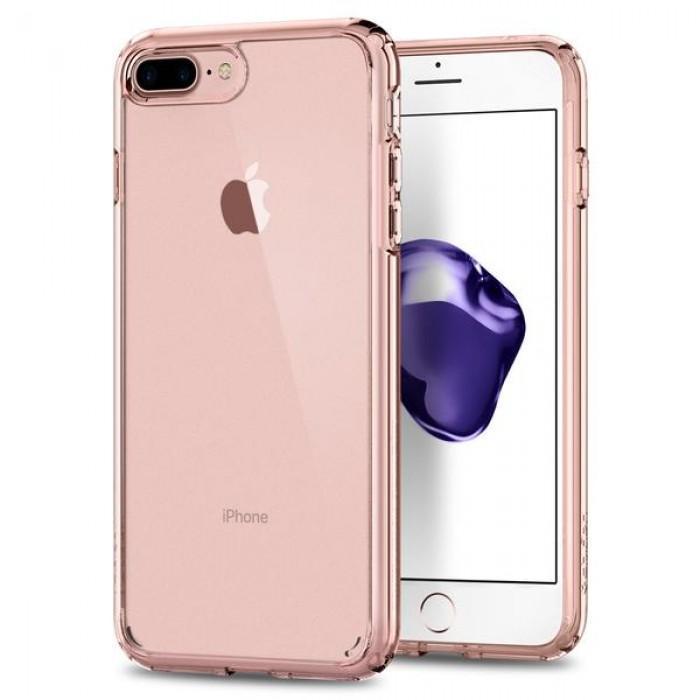 Чехол-накладка Spigen Ultra Hybrid 2 для Apple iPhone 7 Plus/8 Plus Rose Crystal (SGP 043CS21136)для iPhone 7 Plus/8 Plus<br>Чехол-накладка Spigen Ultra Hybrid 2 для Apple iPhone 7 Plus/8 Plus Rose Crystal (SGP 043CS21136)<br>