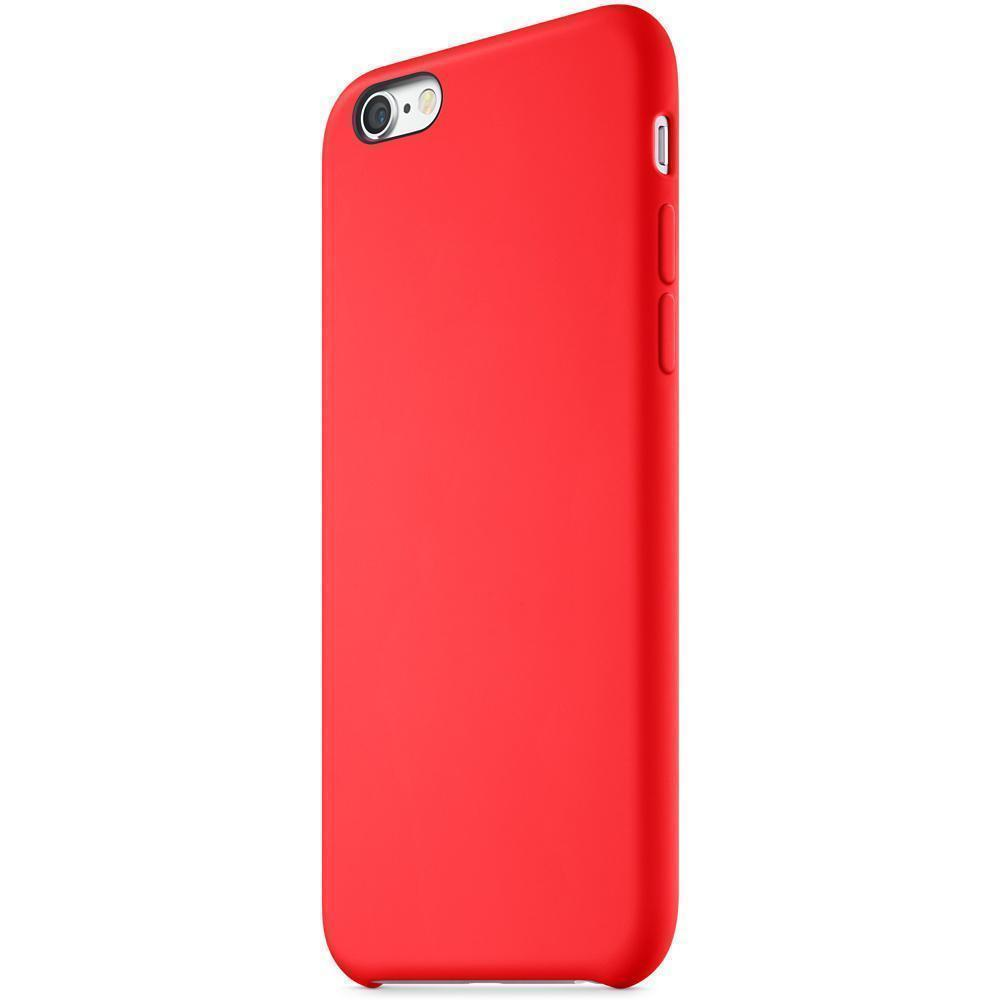 Чехол-накладка j-case 0.5mm THIN для Apple iPhone 6 Plus/6S Plus силикон (красный)
