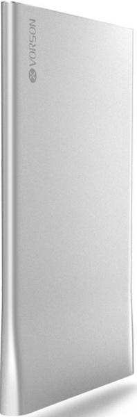 Универсальный внешний аккумулятор Vorson Bookmark 2500 mAh 1 А, USBx1 пласти белыйУниверсальные внешние аккумуляторы<br>Универсальный внешний аккумулятор Vorson Bookmark 2500 mAh 1 А, USBx1 пласти белый<br>