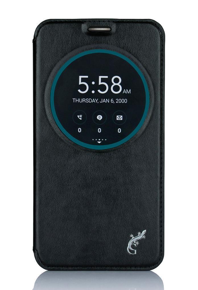 Чехол-книжка G-Case для Asus ZenFone 2 Laser ZE550KL (чёрный)для ASUS<br>Чехол-книжка G-Case для Asus ZenFone 2 Laser ZE550KL (чёрный)<br>