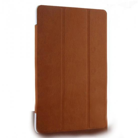 Чехол-книжка Book Cover для Samsung Galaxy Tab S 8.4 (SM-T700/SM-T705) искусственная кожа коричневый