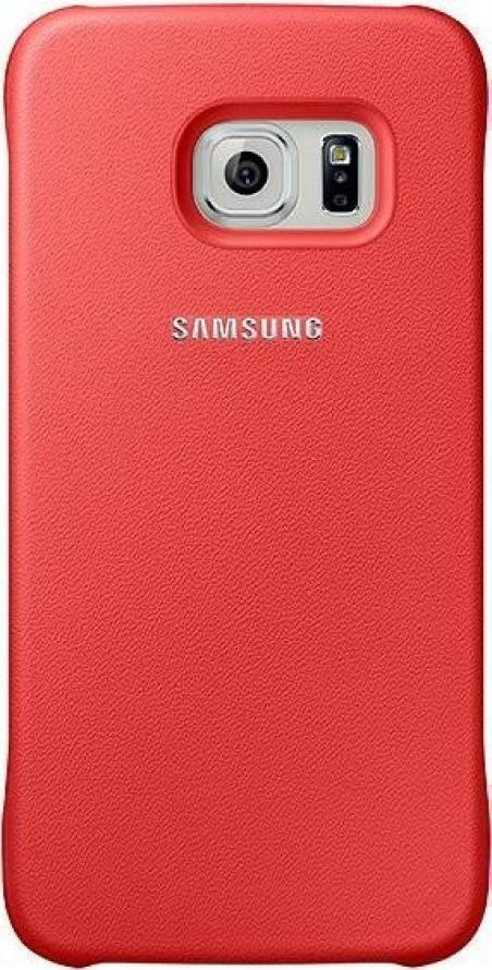 Купить Чехол-накладка Samsung Protective Cover для Galaxy S6 пластик (коралловый) (EF-YG920BPEGRU)