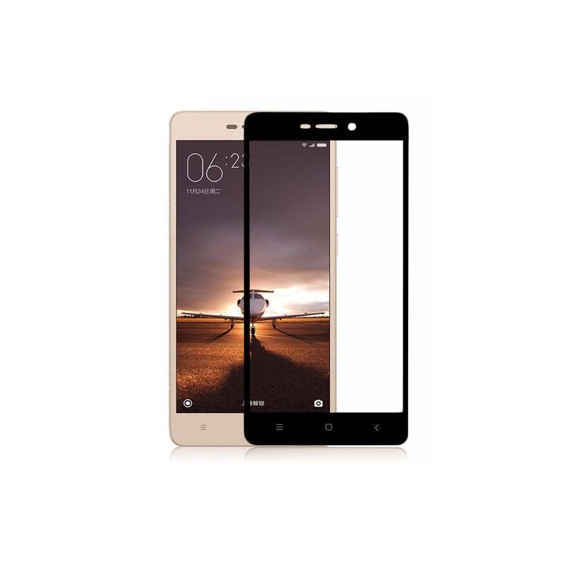 Защитное стекло Glass PRO (Full) Screen для Xiaomi Redmi 3 / 3 PRO / 3S / 3X цветное черная рамкадля Xiaomi<br>Защитное стекло Glass PRO (Full) Screen для Xiaomi Redmi 3 / 3 PRO / 3S / 3X цветное черная рамка<br>