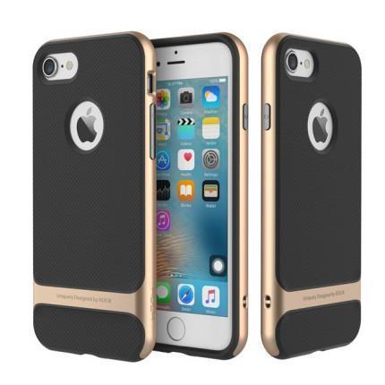 Чехол-накладка Rock Royce Series для Apple iPhone 7/8 пластик/силикон Champagne Goldдля iPhone 7/8<br>Чехол-накладка Rock Royce Series для Apple iPhone 7/8 пластик/силикон Champagne Gold<br>