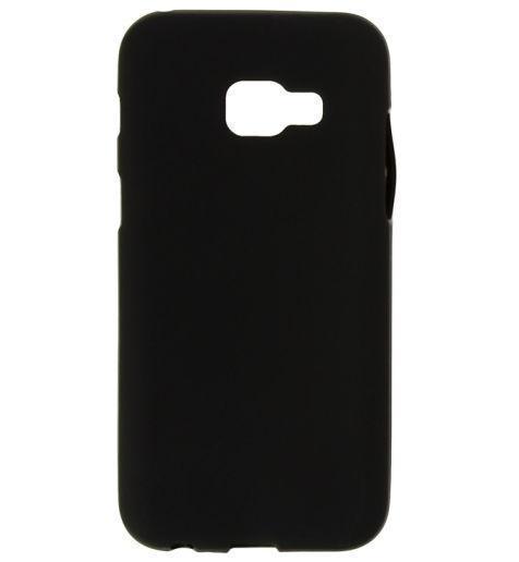 Чехол-накладка для Samsung Galaxy A3 (2017) SM-A320 силиконовый soft touch черный