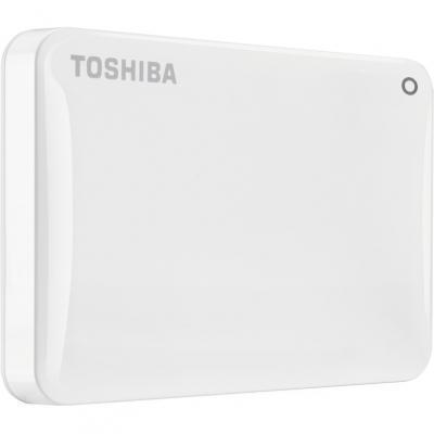 Внешний жесткий диск HDD  Toshiba  2 TB Stor.e Canvio Connect ll белый, 2.5, USB 3.0Жесткие диски<br>Внешний жесткий диск HDD  Toshiba  2 TB Stor.e Canvio Connect ll белый, 2.5, USB 3.0<br>