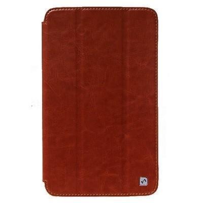 Чехол-книжка Hoco для Samsung Galaxy Tab S 8.4 (SM-T700 / SM-T705) натуральная кожа Brown