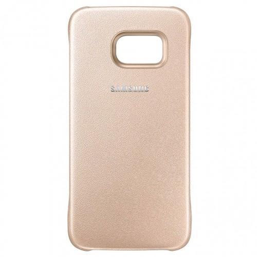 Чехол-накладка Samsung Protective Cover для Galaxy S6 пластик золотой (EF-YG920BFEGRU)для Samsung<br>Чехол-накладка Samsung Protective Cover для Galaxy S6 пластик золотой (EF-YG920BFEGRU)<br>