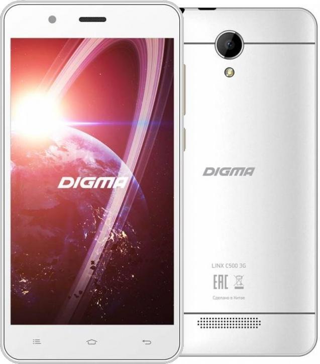 Digma Linx C500 3G WhiteDigma<br>Digma Linx C500 3G White<br>