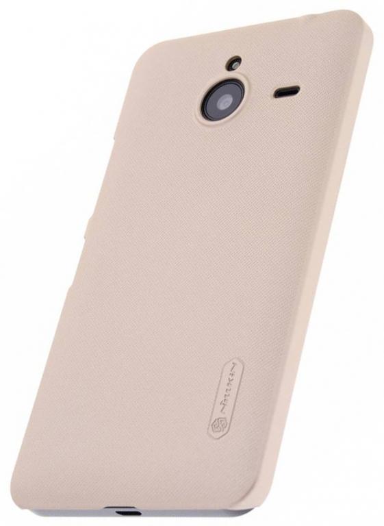 Чехол-накладка Nillkin Frosted Shield для Microsoft Lumia 640 XL (пластиковый) (Gold) фото