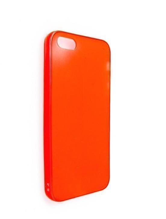 Купить Чехол-накладка для Apple iPhone 5C силиконовый (красный)