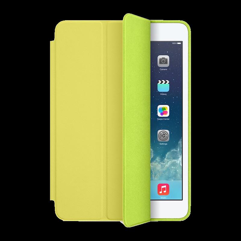 Чехол-книжка Smart Case для Apple iPad mini 1/2/3 (искусственная кожа с подставкой) желтыйдля Apple iPad mini 1/2/3<br>Чехол-книжка Smart Case для Apple iPad mini 1/2/3 (искусственная кожа с подставкой) желтый<br>