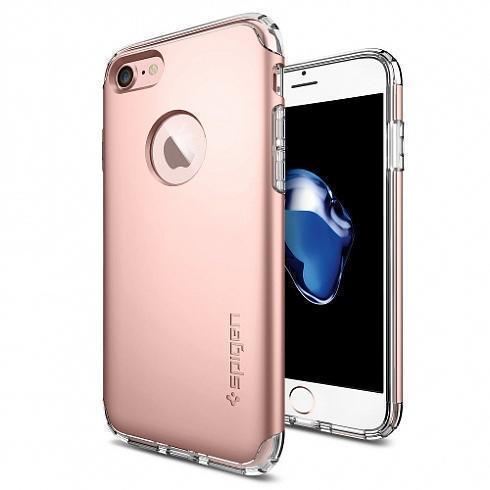 Чехол-накладка Spigen Hybrid Armor для Apple iPhone 7/8 Rose gold (SGP 042CS20696)для iPhone 7/8<br>Чехол-накладка Spigen Hybrid Armor для Apple iPhone 7/8 Rose gold (SGP 042CS20696)<br>