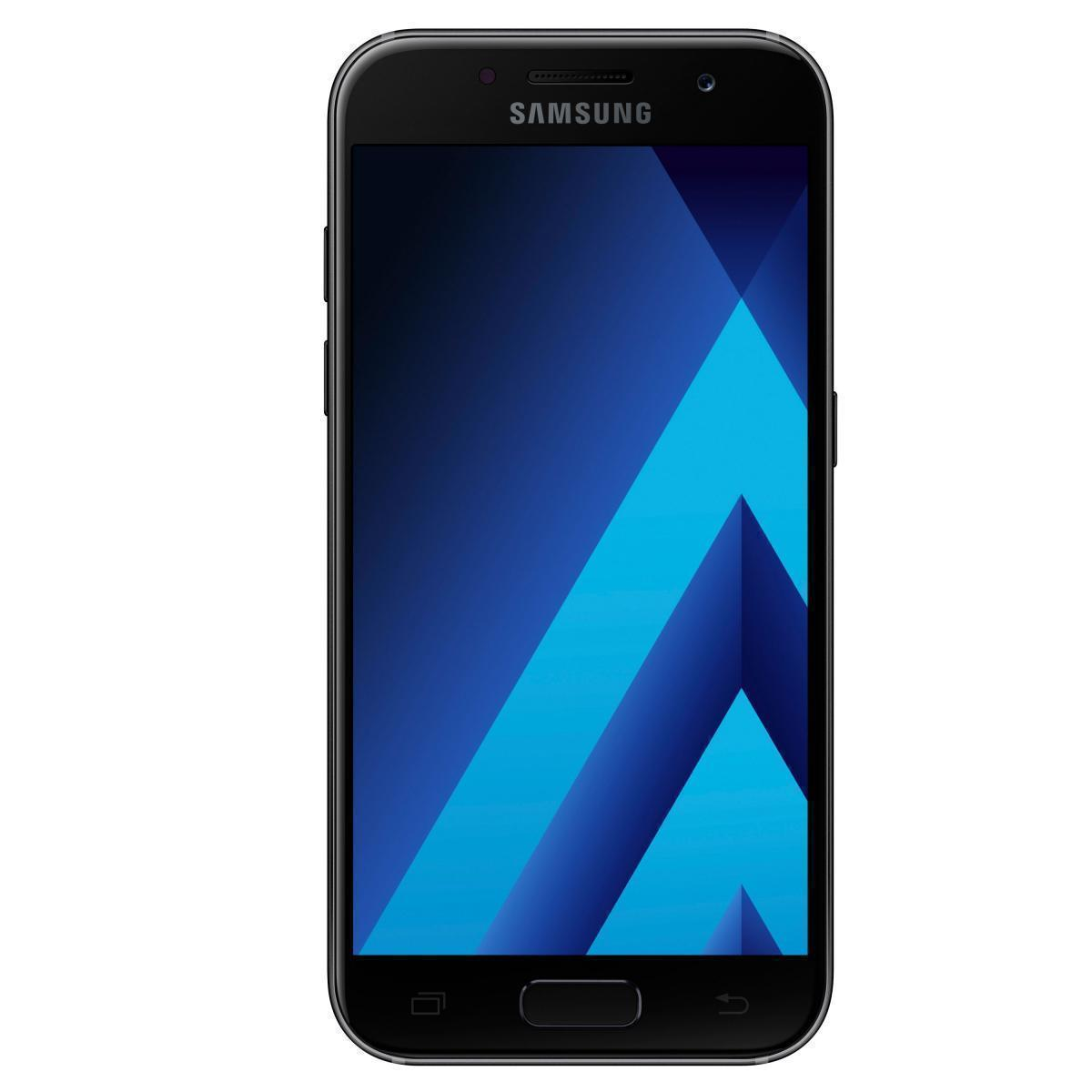 Samsung Galaxy A3 (2017) (SM-A320F/DS) Black (SM-A320FZKDSER)Samsung<br>Samsung Galaxy A3 (2017) (SM-A320F/DS) Black (SM-A320FZKDSER)<br>