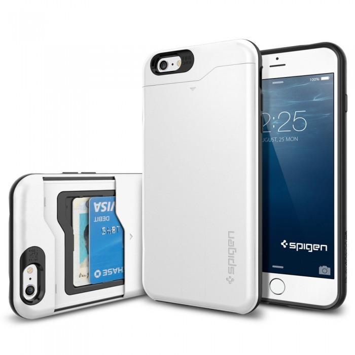 Чехол-накладка Spigen Slim Armor CS для Apple iPhone 6 Plus/6S Plus Shimmery White (SGP10911)для iPhone 6 Plus/6S Plus<br>Чехол-накладка Spigen Slim Armor CS для Apple iPhone 6 Plus/6S Plus Shimmery White (SGP10911)<br>