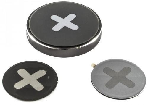 Держатель автомобильный iHave X-series Magnetic Sticker магнитный для телефона (iz0108)