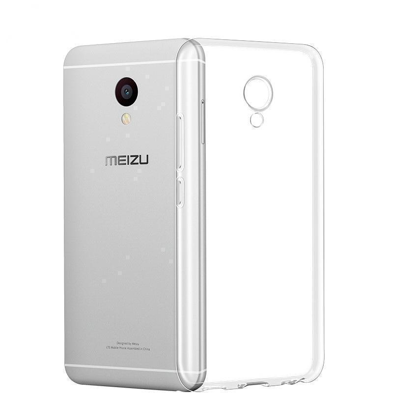 Чехол-накладка для Meizu M5 Note силиконовый прозрачныйдля Meizu<br>Чехол-накладка для Meizu M5 Note силиконовый прозрачный<br>
