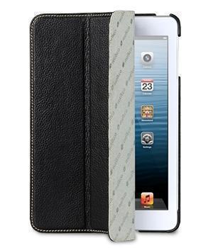 Чехол-книжка Melkco Slimme Type для Apple iPad mini 1/2/3 (натуральная кожа с подставкой) чёрный