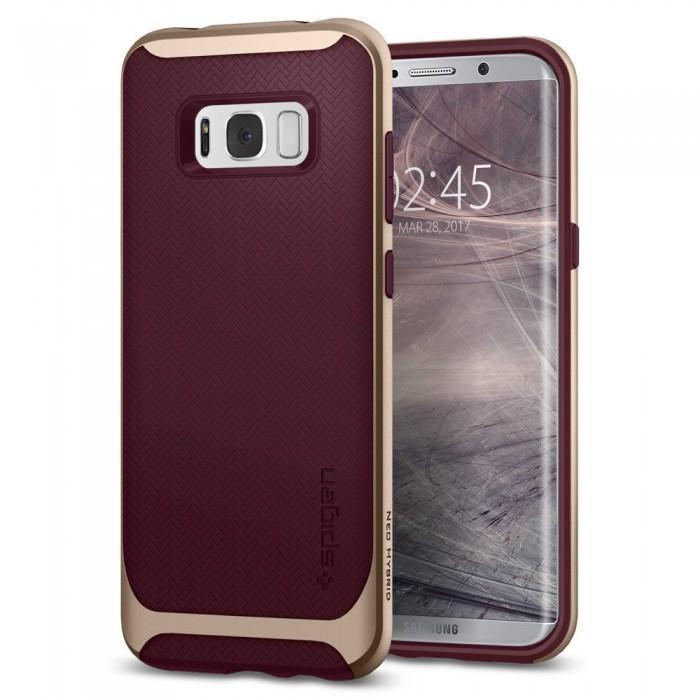 Чехол-накладка Spigen Neo Hybrid для Samsung Galaxy S8+ бордовый  (SGP 571CS21649)для Samsung<br>Чехол-накладка Spigen Neo Hybrid для Samsung Galaxy S8+ бордовый  (SGP 571CS21649)<br>