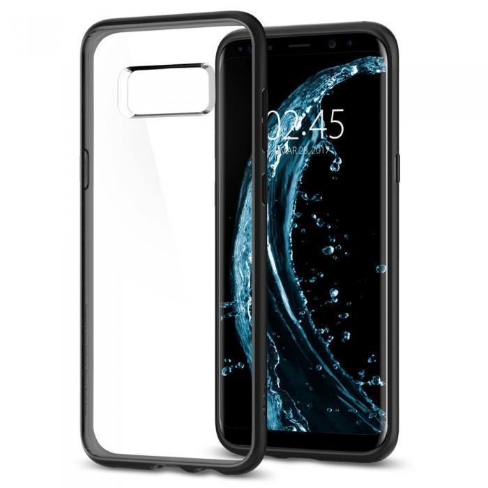 Чехол-накладка Spigen Ultra Hybrid для Samsung Galaxy S8+ черный-матовый (SGP 571CS21680)для Samsung<br>Чехол-накладка Spigen Ultra Hybrid для Samsung Galaxy S8+ черный-матовый (SGP 571CS21680)<br>