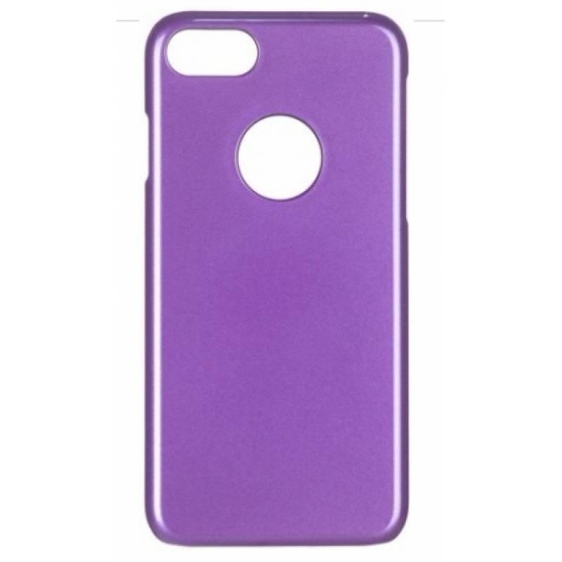 Чехол-накладка iCover Glossy для Apple iPhone 7/8 пластиковый фиолетовый (IP7-G-PP)для iPhone 7/8<br>Чехол-накладка iCover Glossy для Apple iPhone 7/8 пластиковый фиолетовый (IP7-G-PP)<br>