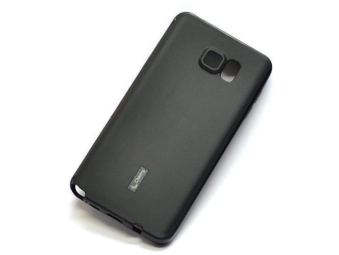 Купить Чехол-накладка Cherry для Samsung Galaxy Note 5 (SM-N920) силиконовый (черный)