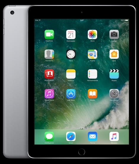 Apple iPad (2017) 128Gb Wi-Fi + Cellular Space Gray (MP262RU/A)iPad (2017)<br>Планшет Apple iPad (2017) 128Gb Wi-Fi + Cellular Space Gray (MP262RU/A)<br>