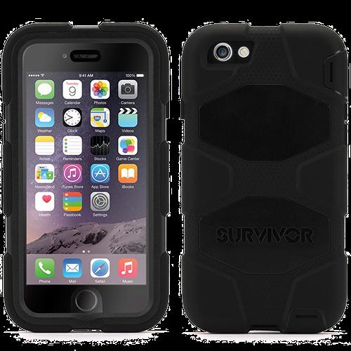 Чехол-накладка Griffin Survivor All-Terrain для Apple iPhone 6 Plus/6S Plus противоударный черный