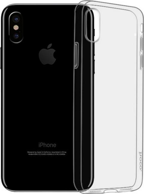 Купить Чехол-накладка Hoco Light Series TPU для Apple iPhone XS силиконовый прозрачный