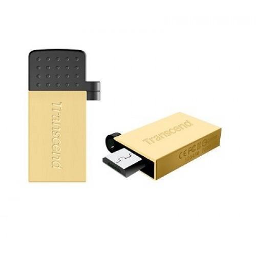 USB флэш накопитель Transcend JetFlash 380G USB 2.0/microUSB 33MB/s 32GB золото-черный (TS32GJF380G)USB-Flash<br>USB флэш накопитель Transcend JetFlash 380G USB 2.0/microUSB 33MB/s 32GB золото-черный (TS32GJF380G)<br>