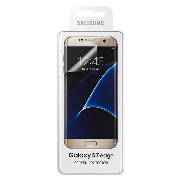 Защитная пленка Samsung Galaxy S7 edge (ET-FG935CTEGRU) глянцевая