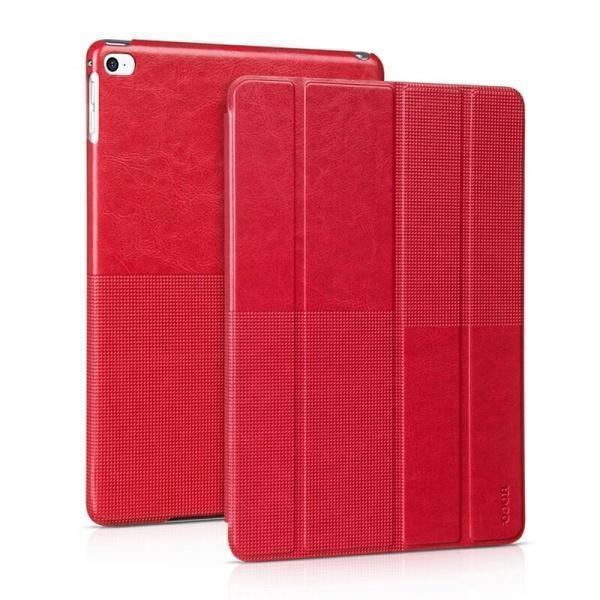 Чехол-книжка Hoco Fashion Series для Apple iPad Air 2 (искусственная кожа с подставкой) Red
