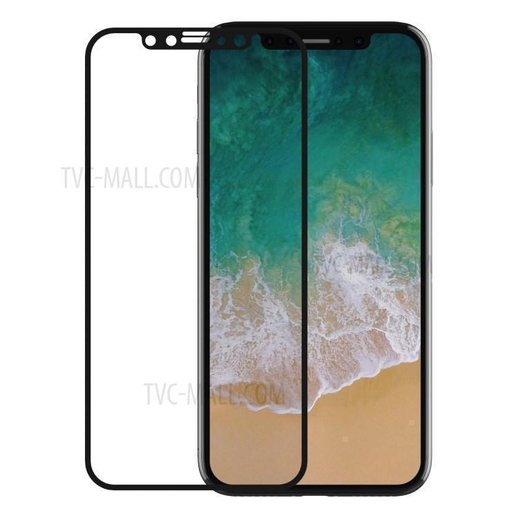 Защитное стекло Devia Van Full Screen 9H 0.26mm для Apple iPhone X цветное черноедля iPhone X<br>Защитное стекло Devia Van Full Screen 9H 0.26mm для Apple iPhone X цветное черное<br>