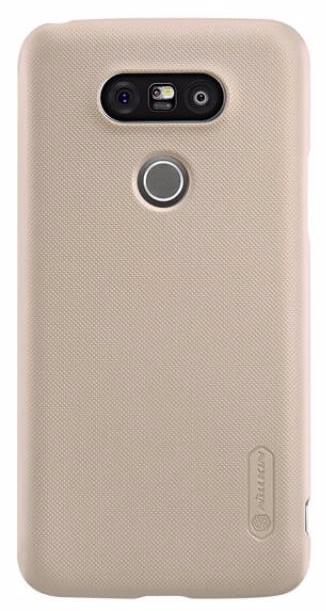 Чехол-накладка Nillkin Frosted Shield для LG G5 (H845/H850/H860N) пластиковый золотойдля LG<br>Чехол-накладка Nillkin Frosted Shield для LG G5 (H845/H850/H860N) пластиковый золотой<br>
